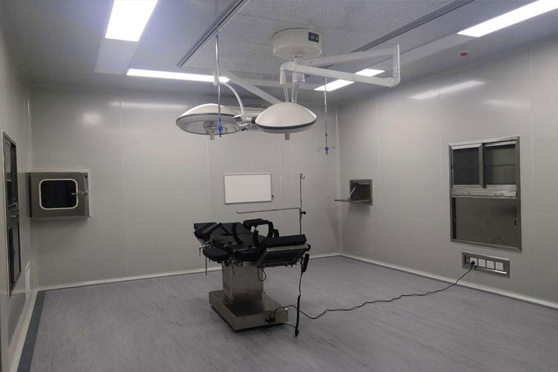 成都市东方美相医美层流手术室装修